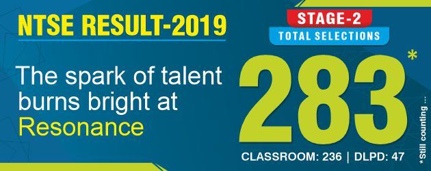 NTSE Stage-2 Result 2019